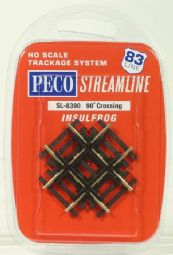 Peco SL8390 Code 83 90° crossing - half price!